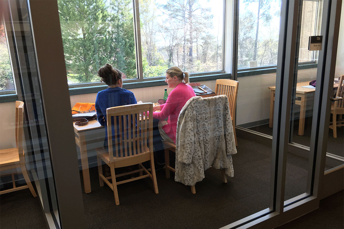 Chapel Hill Library Study Rooms