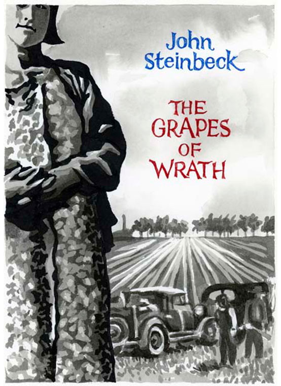 communism met by discrimination and hatred in the grapes of wrath by john steinbeck Publicly denying the truthfulness of steinbeck's depiction of communism in in dubious battle could have put at risk the credibility of his masterpiece, the grapes of wrath, a book that, unlike the earlier novel, largely conformed to the slovene regime's ideology, and was thus enlisted into its service.