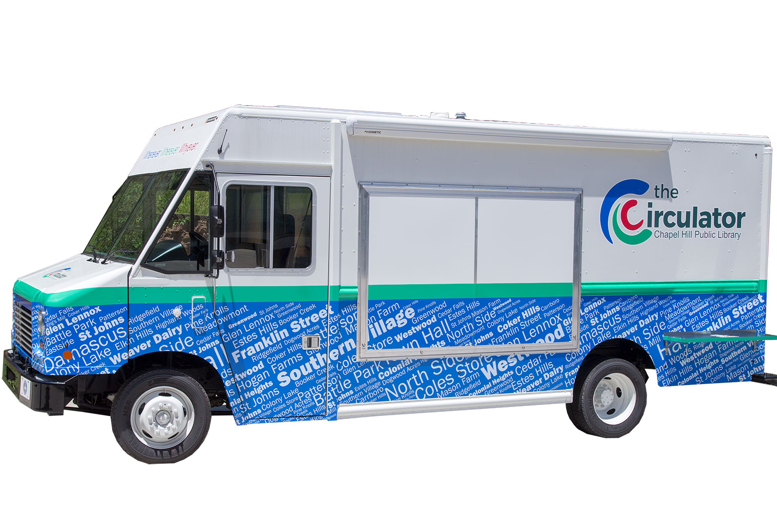 Check Out The Circulator, Your New Mobile Library