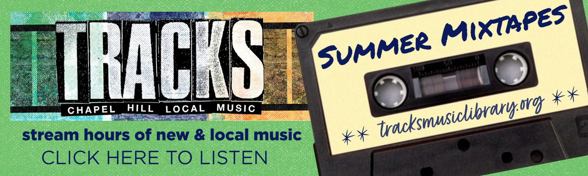 Tracks - Chapel Hill Local Music. Stream hours of new and local music. Click here to listen.